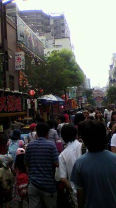 麻布十番祭り〜♪